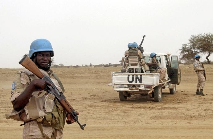 Batı Afrika ülkesi Mali'de BM askerlerine saldırı