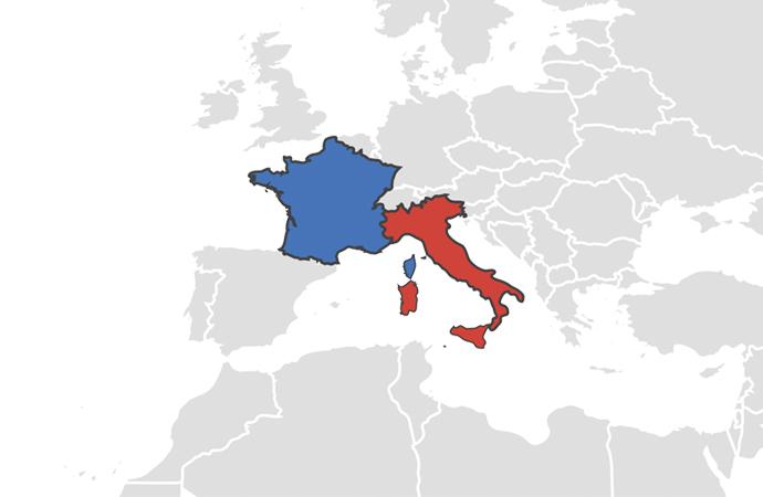 İki Avrupa ülkesi birbirine düştü