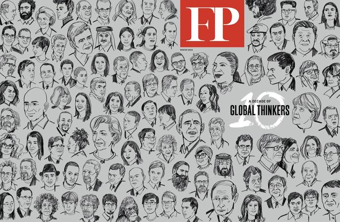 'Küresel Düşünürler' listesinde kimler var, niçin?