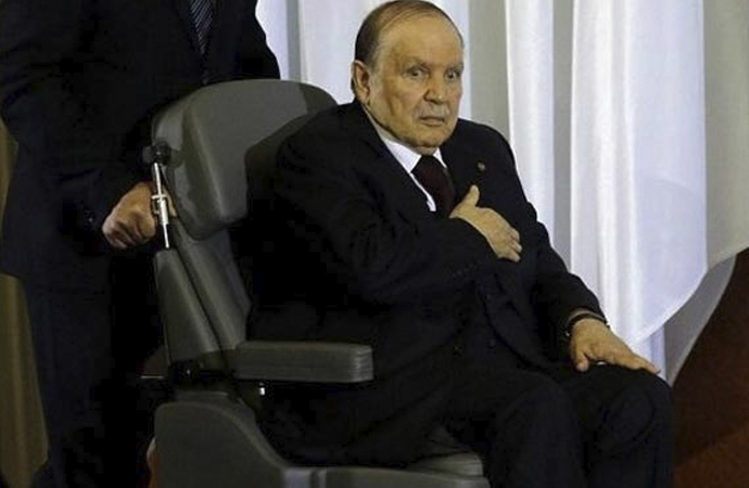 Cezayir'de düzen devam ediyor: Buteflika 5'inci kez aday