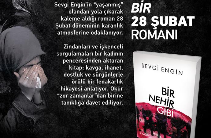 Sevgi Engin'inromanı ikinci baskısını yaptı