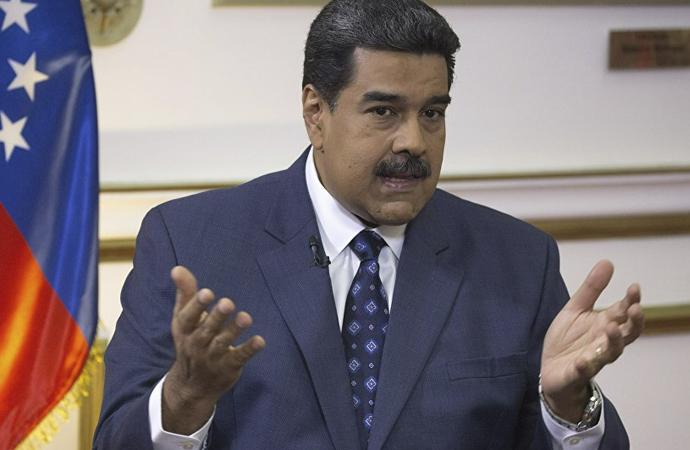 Maduro: ABD'nin Venezuela temsilcisi ile gizli görüşmeler yaptık