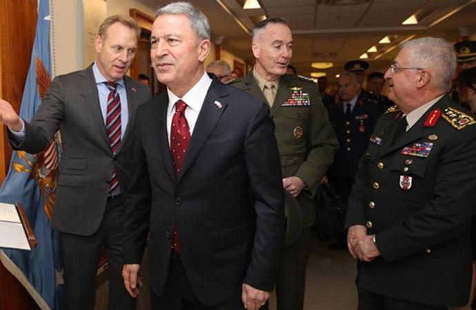 Bakan Akar, Pentagon temasları hakkında bilgi verdi