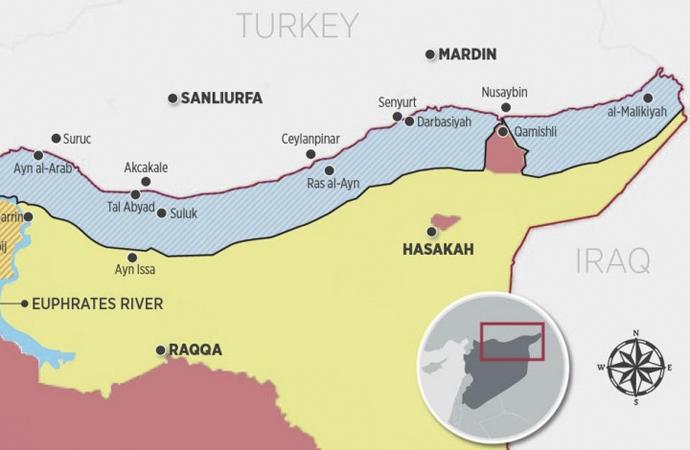 ABD'nin Suriye'nin kuzeydoğusu için yeni planı