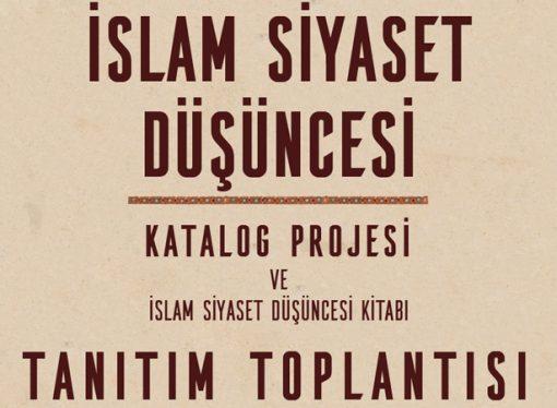 İslam Siyaset Düşüncesi kitabı tanıtım paneli