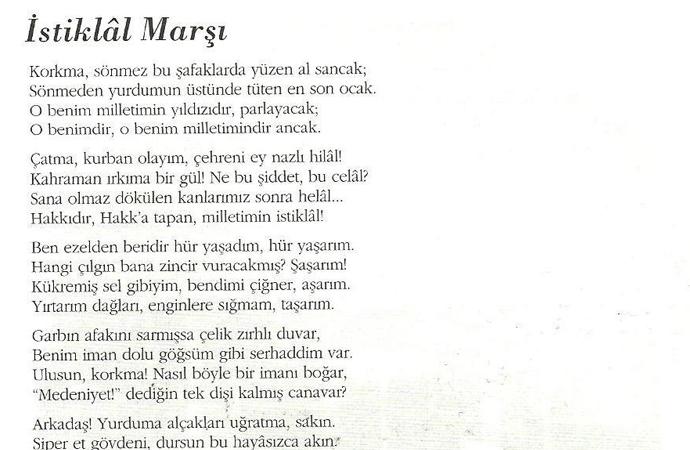 """Atatürk: """"Bu marş, bizim inkılabımızın ruhunu anlatır"""""""