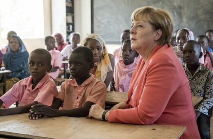 Afrika'da yürütülen Alman siyaseti