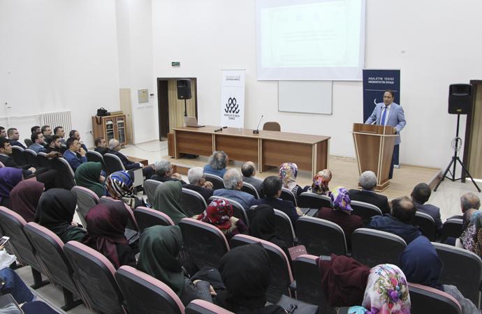 """Fırat üniversitesinde """"İslam Düşünce Tarihinde Mantık"""" konulu söyleşi"""