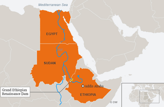 Nil nehri üzerindeki kavgada Çin faktörü