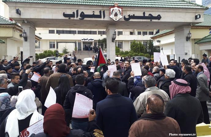 Ürdün'de İsrail'den doğalgaz alımı protesto edildi