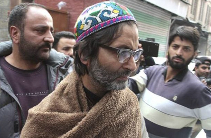 Keşmir direniş lideri Yasin Malik tutuklandı