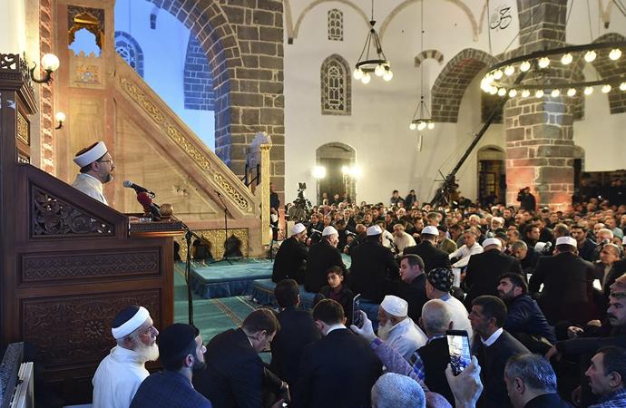 Erbaş: 'Bizim İslam'dan başka bir geleceğimiz yoktur'
