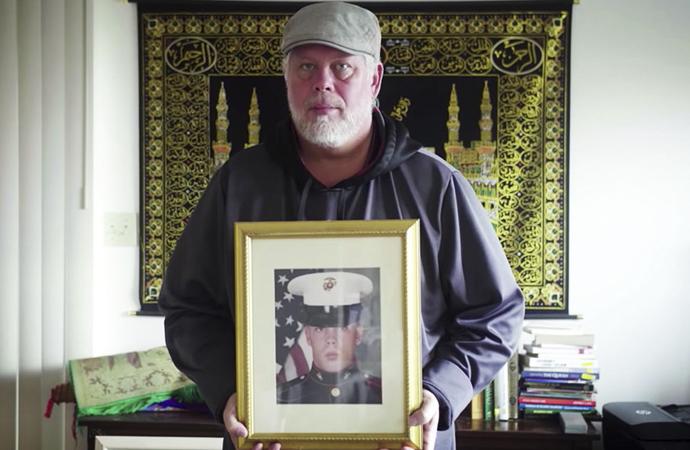 Amerikalı eski askerin İslam'a geçişi 8 hafta sürdü