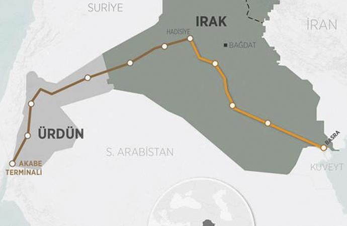Irak petrolünü Kızıldeniz'e taşıyacak yeni hat