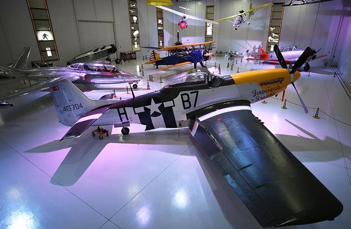 Havacılık ve Uzay müzesinde uçuş imkanı