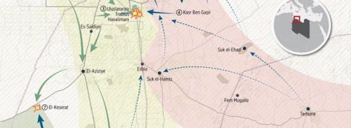 Libya'da çatışma noktaları