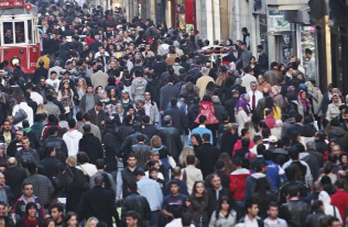 Türkiye'nin genç nüfus oranı yüzde 15,8