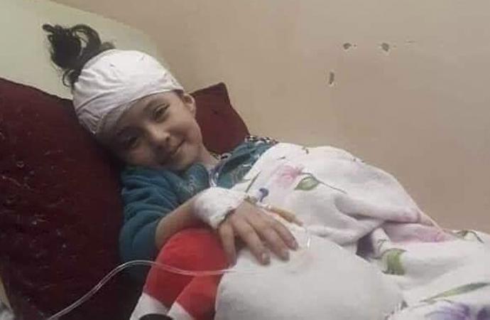 5 yaşındaki Filistinli yalnız başına hayata veda etti