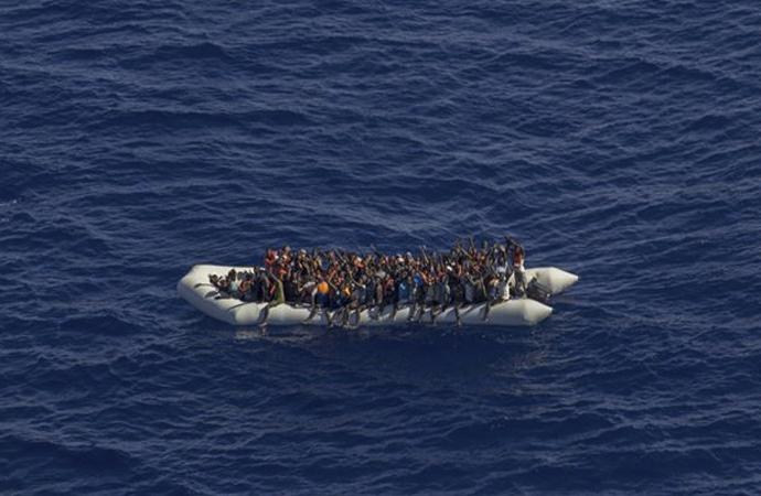 Akdenize açılan göçmenlerin yüzde 75'i kayıp