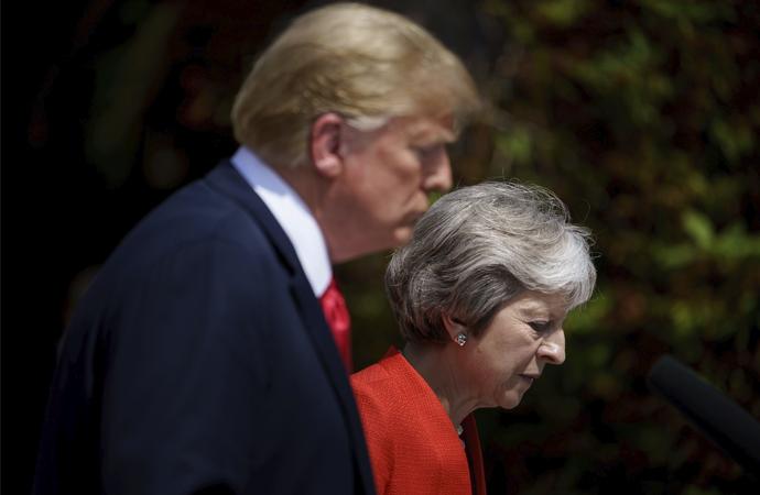 """ABD ve İngiltere'nin """"özel ilişkisi"""" vurgulandı"""