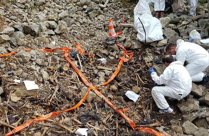 Bosna Hersek'te yeni mezarlar bulundu