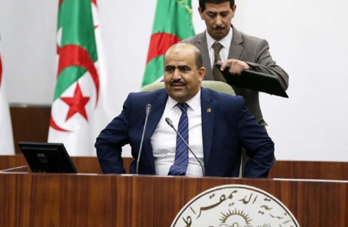 Cezayir'de Meclis Başkanlığına İslami eğilimli isim