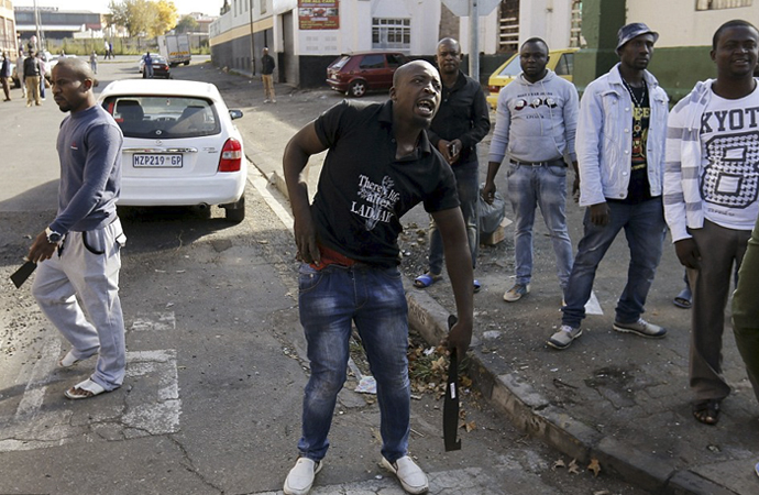 Güney Afrika'da çete savaşları (infografik)