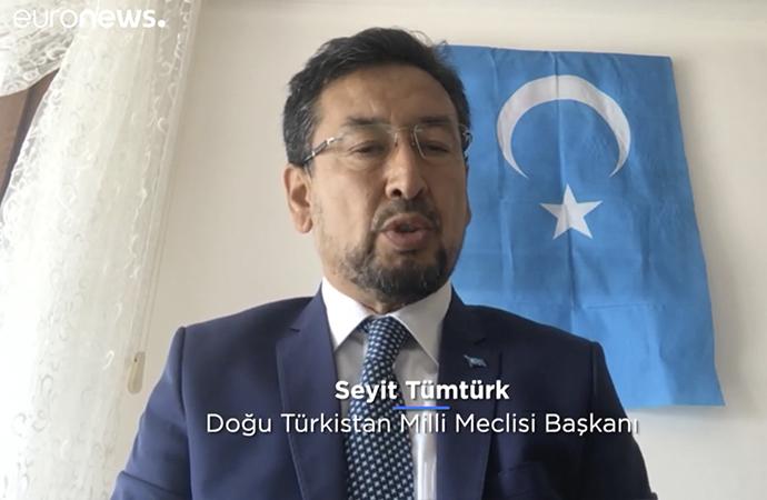 Doğu Türkistan Milli Meclisi Başkanı: Çinliler mahremimize giriyor