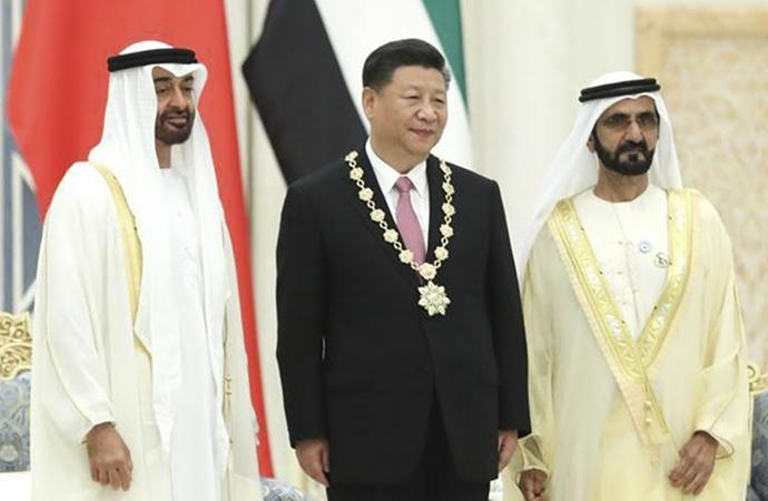 BAE, Çin'le işbirliğini artırmaya çalışıyor