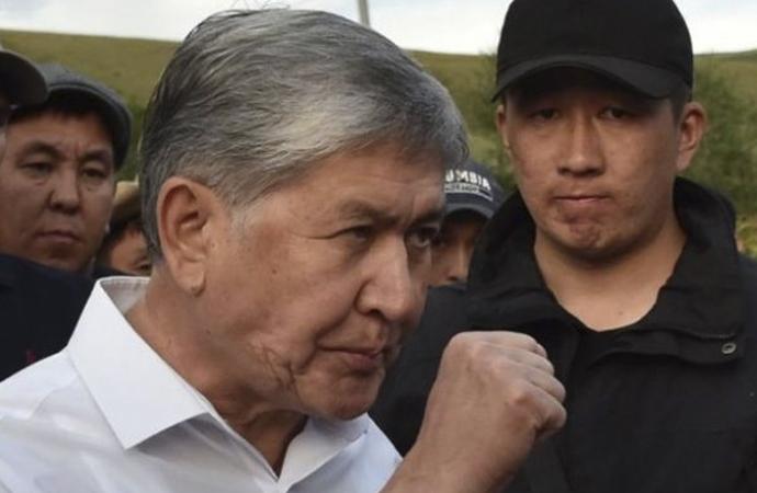 Kırgızistan'da Atambayev krizi