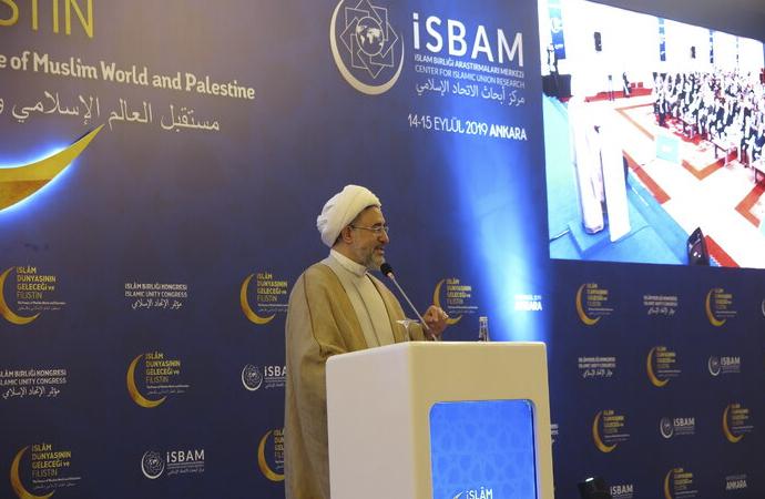 """""""İslam ümmetinin kimliği bugün tehdit altındadır"""""""