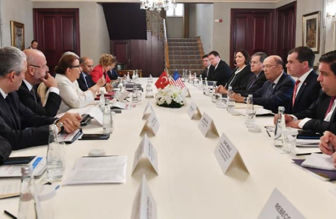 Pekcan: 'ABD Ticaret Bakanı ile verimli bir görüşme gerçekleştirdik'