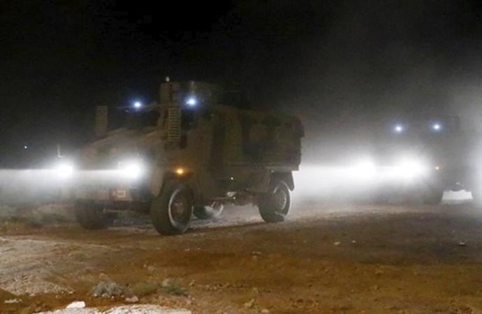 TSK Fırat'ın doğusuna kara harekatına başladı