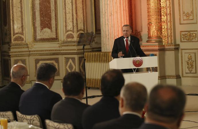 Erdoğan: 'Küresel bir yeniden yapılanma süreci yaşıyoruz'