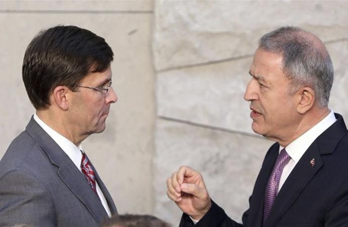 ABD'li bakanla 'Güvenli Bölge' görüşmesi