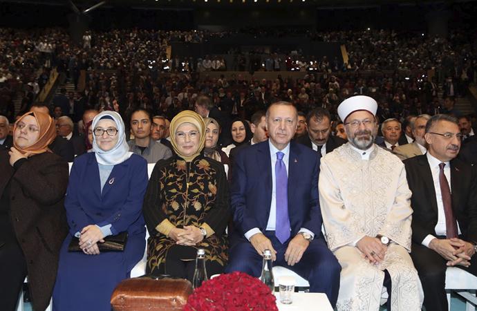 Mevlid-i Nebi haftasının açılışını Cumhurbaşkanı yaptı