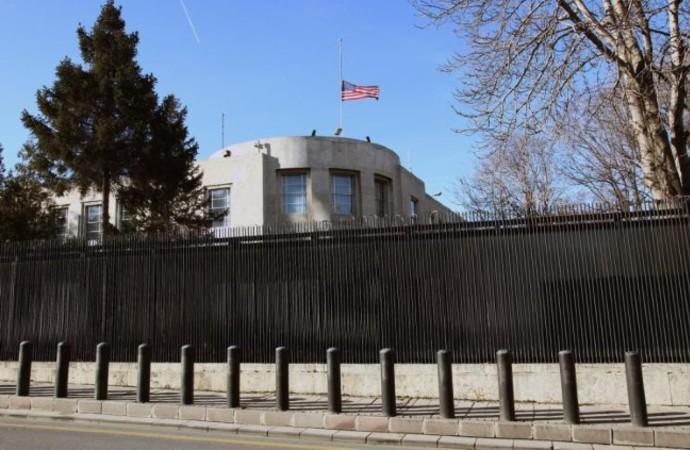 ABD Büyükelçiliğinden, Konsolosluk çalışanları için açıklama