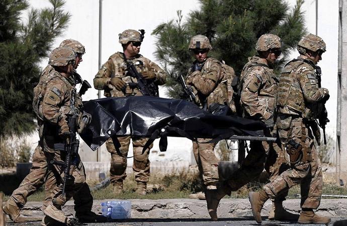 Afganistan'da iki ABD askeri öldürüldü