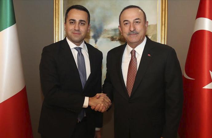 Çavuşoğlu, İtalyan Dışişleri Bakanı ile görüştü