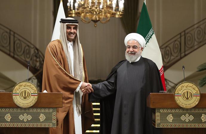 ABD-İran gerilimini düşürmek için Katar ön plana çıktı