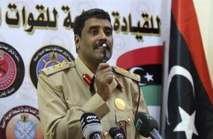 "Hafter sözcüsü: ""Libya'da çözüm silah yoluyladır"""