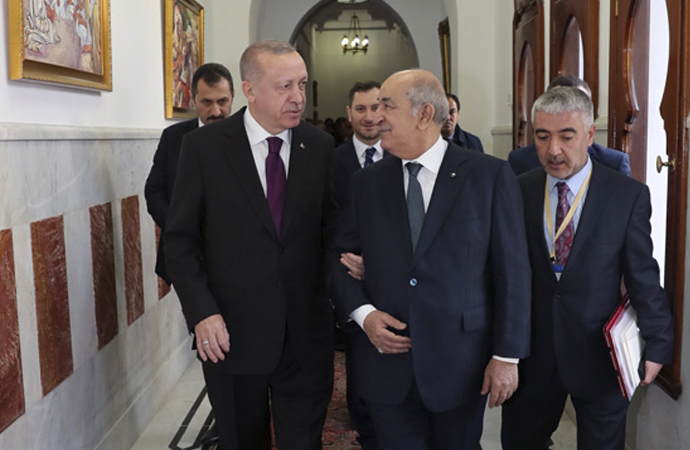 """Erdoğan: """"Cezayir'in huzurunu ve bekasını kendimizinkinden ayrı tutmuyoruz"""""""