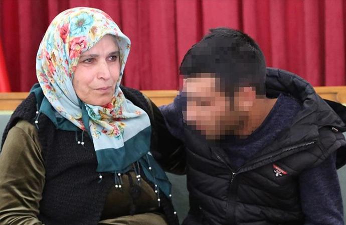 HDP önünde eylemde bir aile daha evladına kavuştu