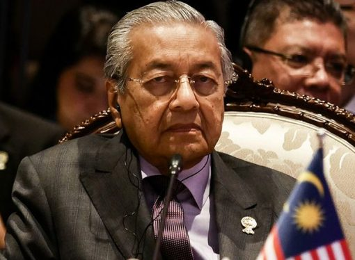 Mahathir Muhammed istifa etti