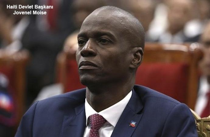 """Haiti yorumu: """"ABD, elemanı Moise'ye git diyor"""""""