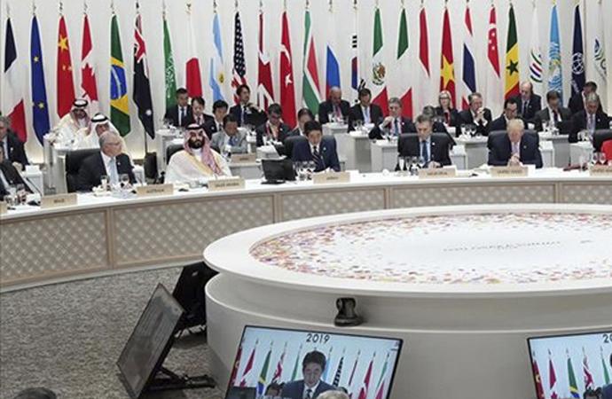 G20 üyeleri Arabistan'da sanal zirvede toplanacak