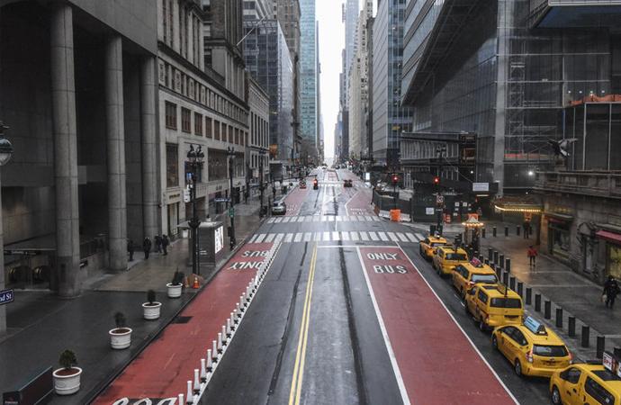 Salgının yayıldığı New York'ta muhtemel maddi kayıp