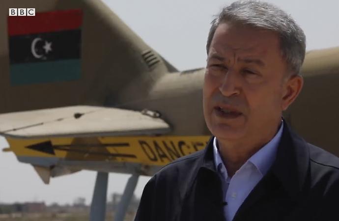 Hulusi Akar, Libya'da BBC'ye konuştu