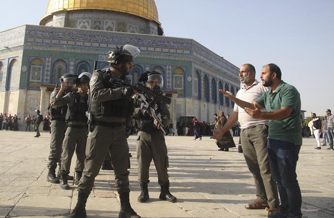 'İsrail'in Filistin topraklarını gasbı karşısında susmak ihanettir'