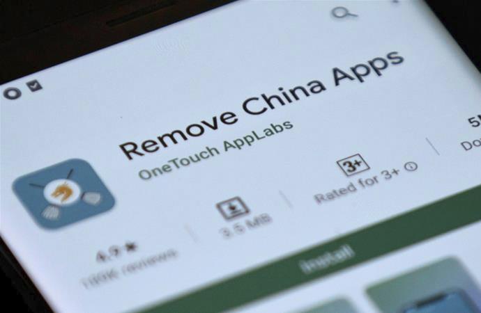 Hindistan hükümeti Çin uygulamalarını yasakladı